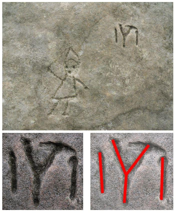 Sanctuarul tracic de la Rayuv, Bulgaria, petroglife.