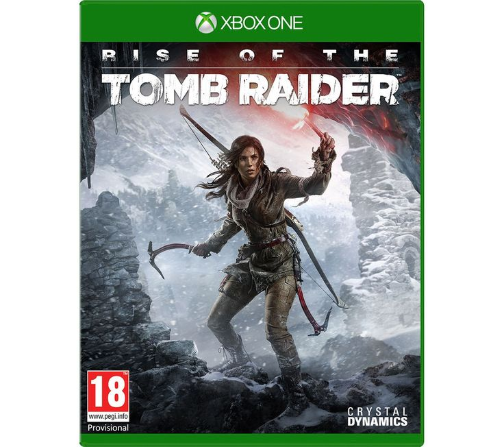 XBOX ONE  Rise of the Tomb Raider Price: £ 39.99 Explore ancient tombs filled with deadly traps and perilous conditions in Rise of the Tomb Raider for Xbox One. Huge interactive environments lay waiting for you and it's your task to solve puzzles, decipher ancient text and reveal crypts to uncover a world filled with dark secrets. Configure Lara's gear and weapons to suit your play style as...