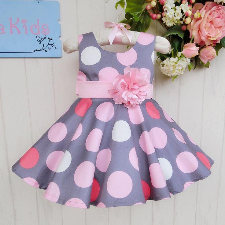 Проекты 2015 детское платье Boutique танцующая девушка в одежде Розовые цветы Новая коллекция Серый Dot Сладкие девочек Принцесса свадебные платья-в платьях от детей и Mothercare на Aliexpress.com | Alibaba Group
