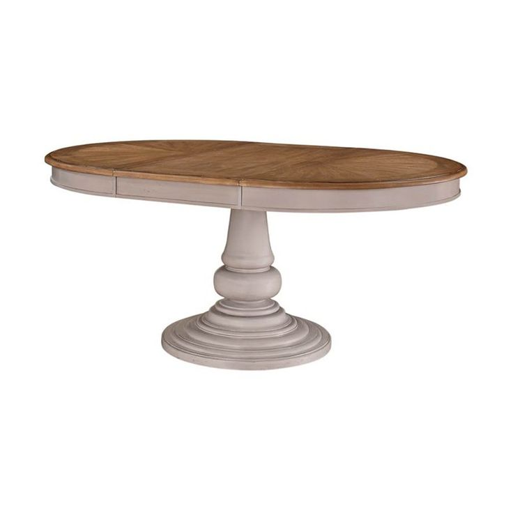 Have to have it. Emerald Home Brighton Dove Gray Oval Dining Table - $569.99 @hayneedle.com