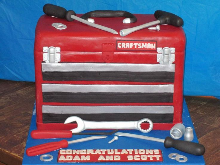 toolbox cake - Google Search
