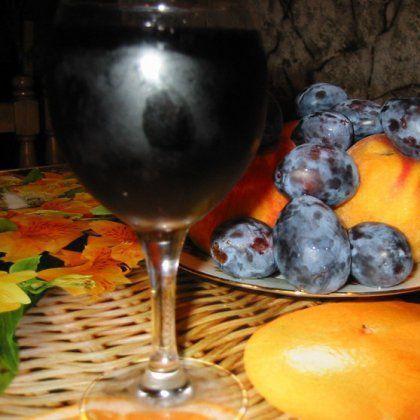 Готовим домашнее вино из сливы