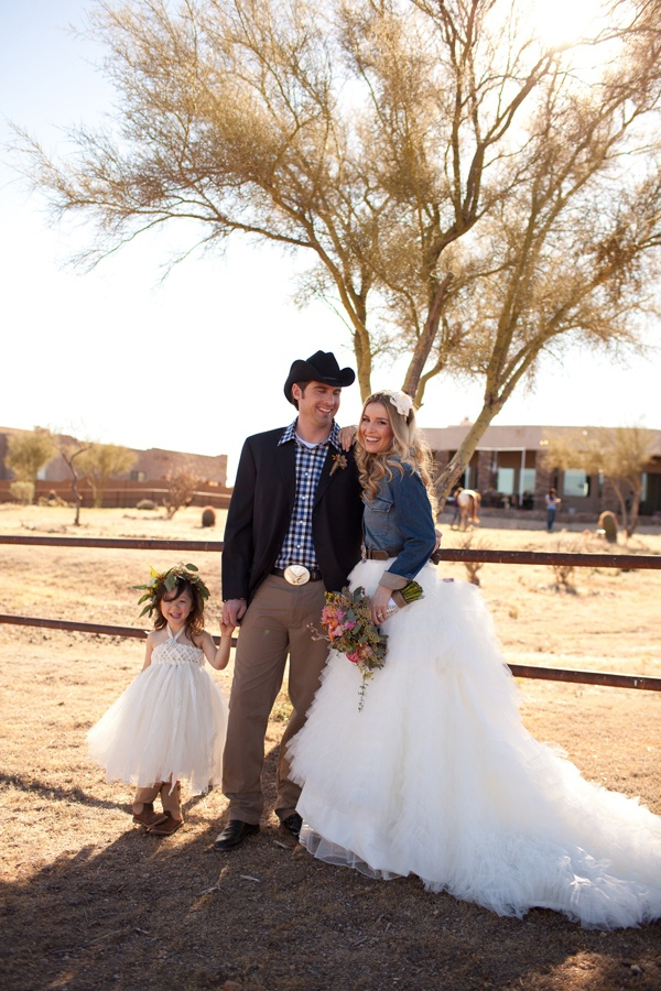 country western glam wedding