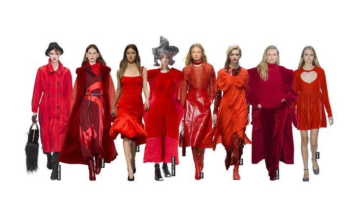 Fashion Trends For Autumn Winter 2017: Cultural References, Knitwear And Every Shade Of Red