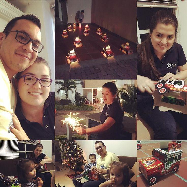 Pasando una #FelizNavidad en familia! Los amo!