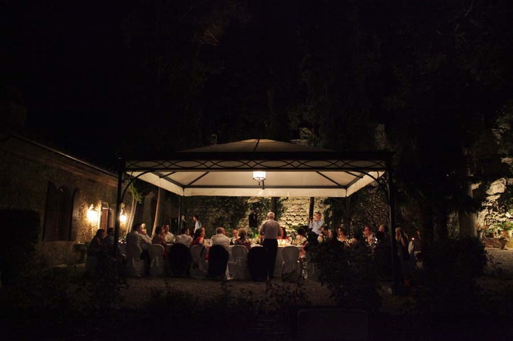 Wedding in Italy, Tuscany Castle -  What a lovely reception, so intimate and familiar