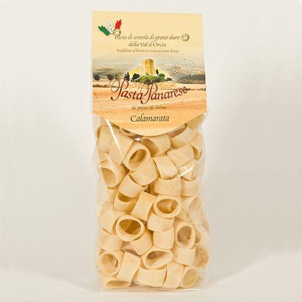 Vendita online | Calamarata Pasta di semola di grano duro sacchetto da gr.500 Pasta Panarese - Gastronomia - Prodotti Italiani