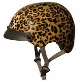 Okay...maybe I will start wearing a bike helmet. Bike-chic!!: Furuno Helmets, Bicycles Stuff, Leopards Cycling, Furuno Leopards, Cycling Chic It, Cycling Helmets, Sawako Furuno, Bike Accessories, Bike Helmets