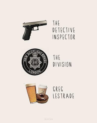 Greg Lestrade - sherlock Fan Art