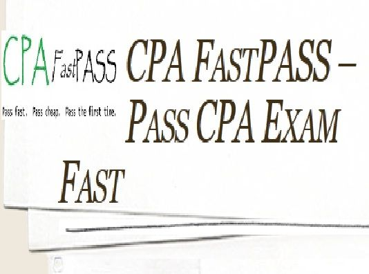 #CPA is the highest standard of competence in Accountancy across the globe. CPA Fast Pass provides CPA exam study plans, materials, and CPA course training within your budget.  http://www.cpafastpass.com/
