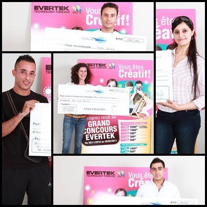 Les Tunisiens ont du talent et nous l'ont prouvé à l'occasion de notre concours National Evertek In Motion. Voici ceux que les Internautes ont choisis pour leurs créations photographiques et vidéos. Bravo !