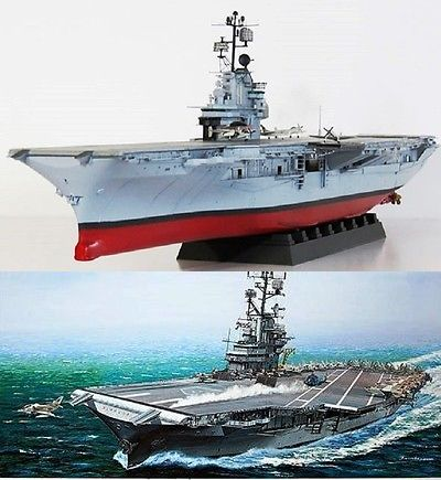 Sea 2590: Gallery Mpn 64008 Uss Intrepid Aircraft Carrier 1 350 Scale Model Kit -> BUY IT NOW ONLY: $225 on eBay!