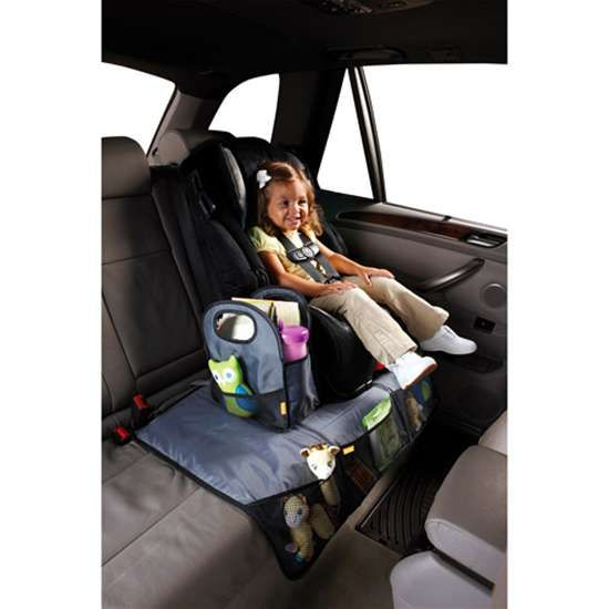 Brica Car Seat Protector With Toy Organizer