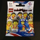 Lego Minifigures WEIGHTLIFTER Team GB (8909) NEW - Unopened - Factory sealed
