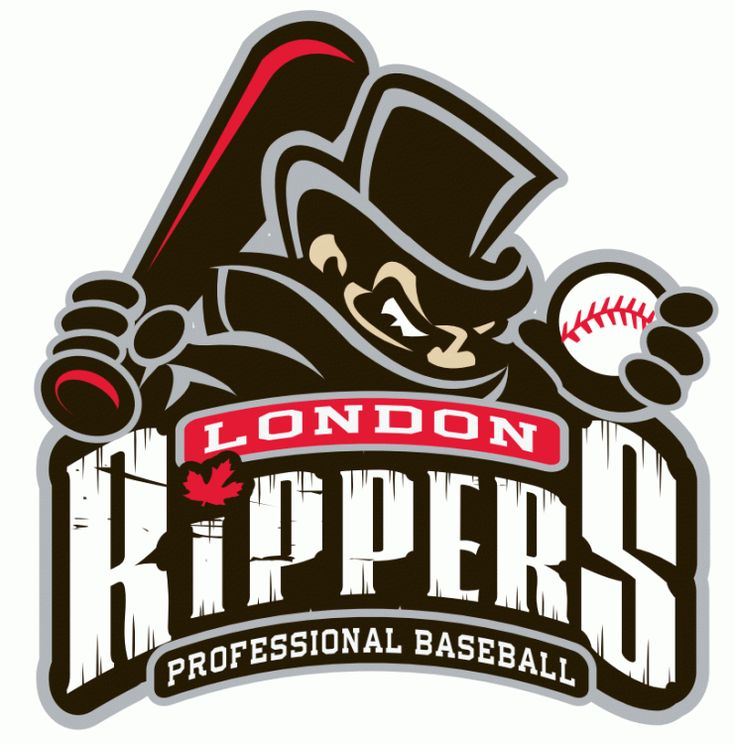 Maybe the best logo for a team that only lasted half of a season, the Rippers folded midway through the 2012 Frontier League season