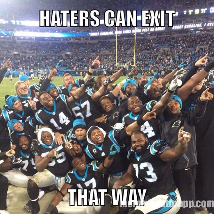 """PANTHERS WIN!!! #KeepPounding #Panthers #GoPanthers #CamNewton #CarolinaPanthers #PantherNation"""