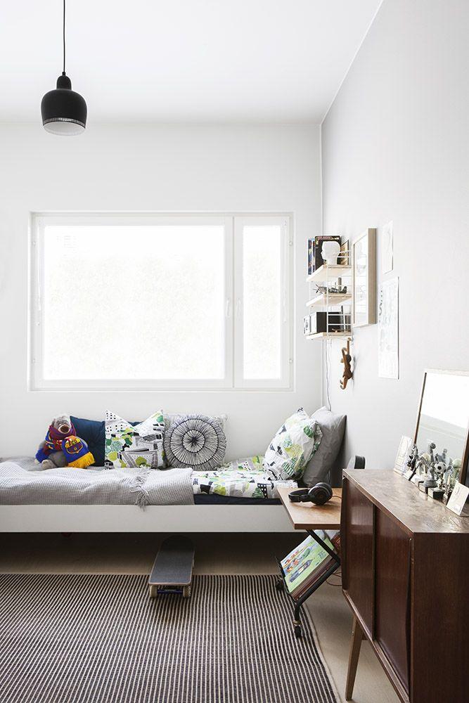 Pojan huone, Scandinavian interior, Boys Room