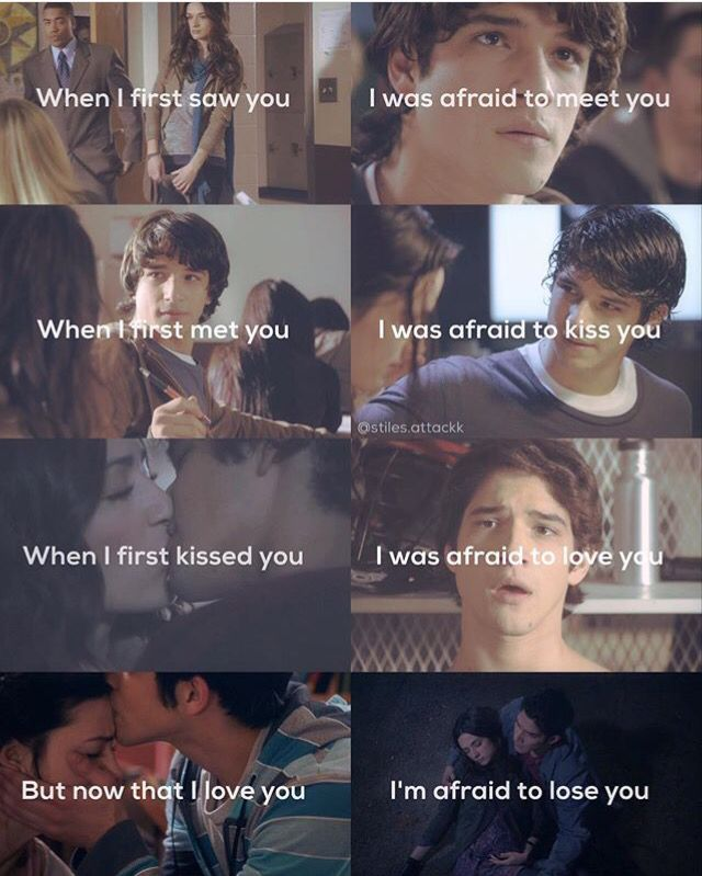 Teen wolf! Scallison
