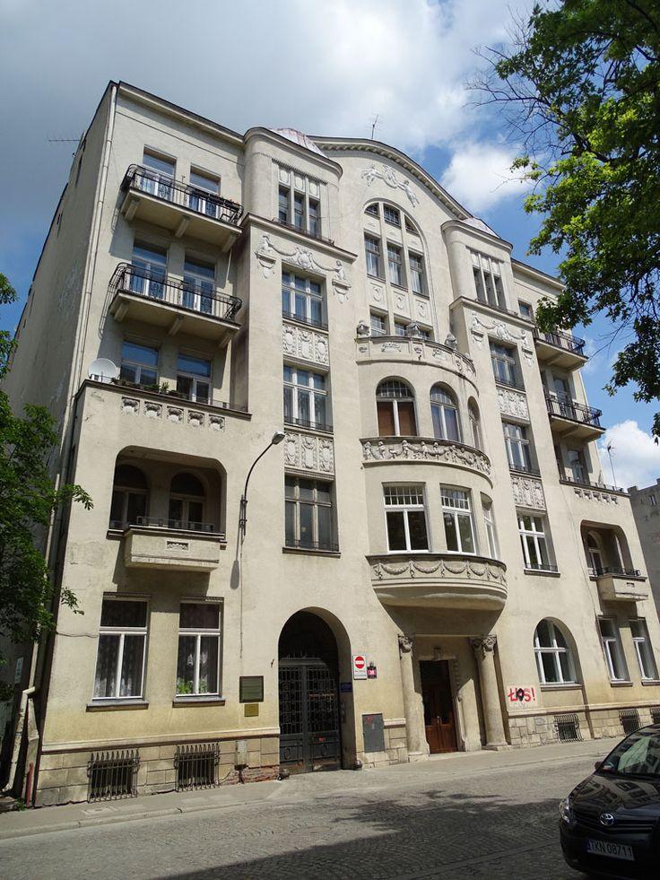 Łódź, Tuwima 30 (1914, arch. Witold Szereszewski), fot. PK