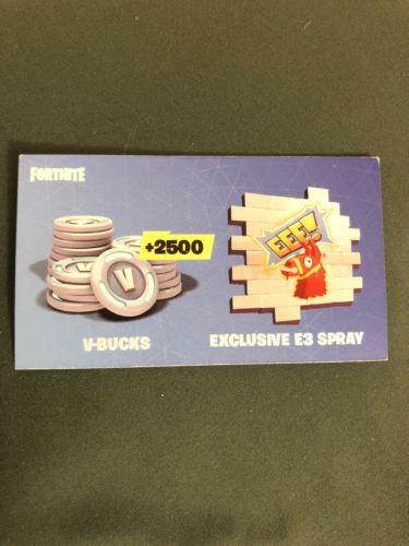 E3 Fortnite Code Ebay - Ultramarinesthemovieblog com