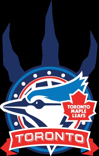 All Toronto Teams Together... One Big Logo!