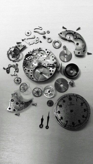 Vintage Ladies Omega, Calibre 19.4.T.2 - Full scale restoration work ongoing.