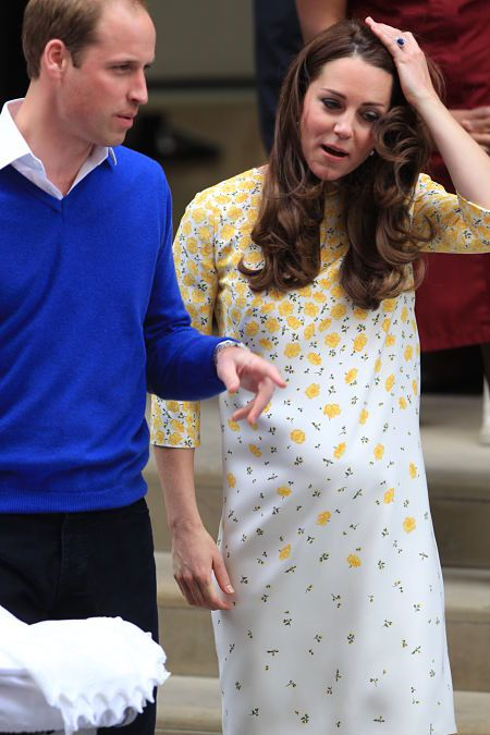 Kate Middleton exhausted