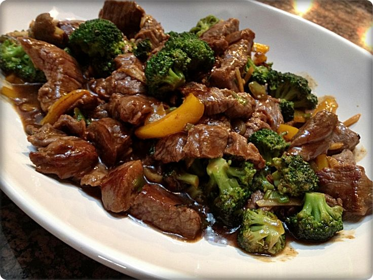 Thermomix GINGER BEEF & BROCCOLI STIR FRY - BigOven