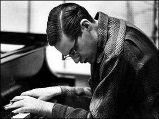 Bill Evans: One of the most influential and tragic figures of the post-bop jazz piano, was supremely talented but painfully self-effacing. He transformed the very sound of jazz piano, and influenced a generation of great jazz artists. He remains a monumental model for jazz piano students everywhere.