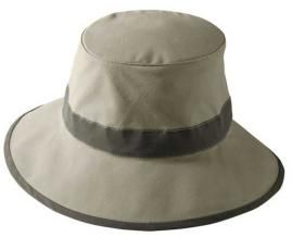 Khaki (Tilley) - Tilley Hat - Women's Organic Cotton Hat