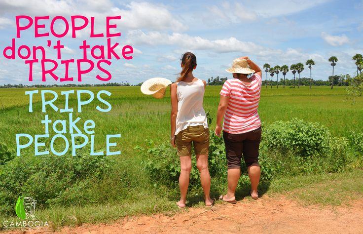 """""""People don't take Trips. Trips take People"""" John Steibeck  Il verde della Cambogia, nei dintorni di Siem Reap.    Scopri i nostri itinerari su www.cambogiaviaggi.com    #cambogiaviaggi #siemreap #trekvillage #green #cambogia #cambodia"""