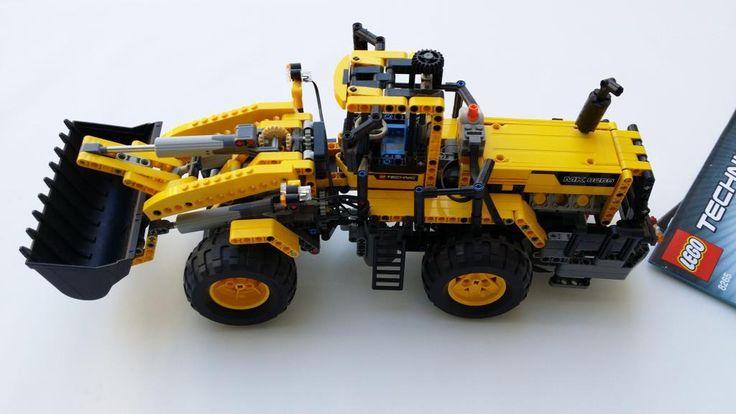 LEGO Technic 8265 Frontlastare auk. 511 på Tradera.com