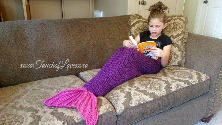 Looking for your next project? You're going to love Quick and Easy Mermaid Blanket Tail by designer Sheila Hunt.