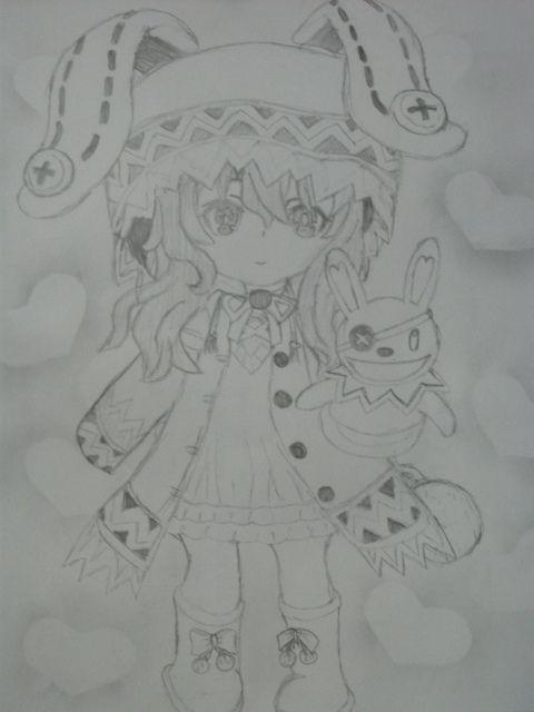 yoshino , its just fan art ~