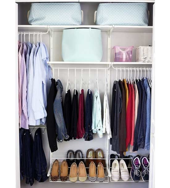 Get organization tips straight from the pros! Tidy up every room in your home with this simple tips, tricks and project ideas that will cut your cleaning time in half.