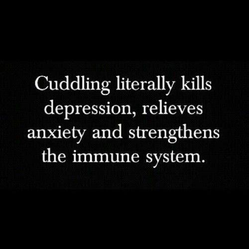 6 Benefits of Cuddling