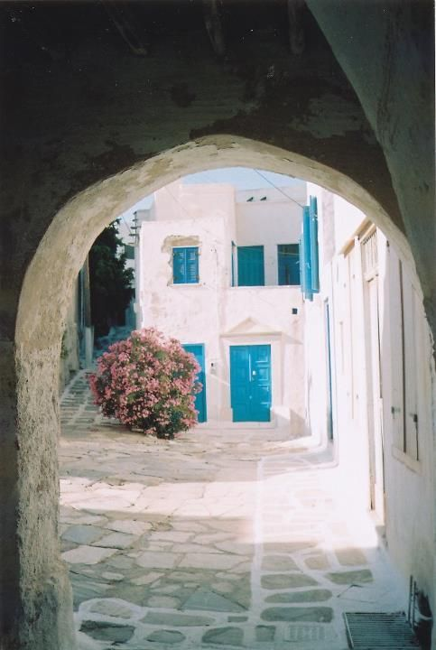 Dome Alley, Tinos, Greece