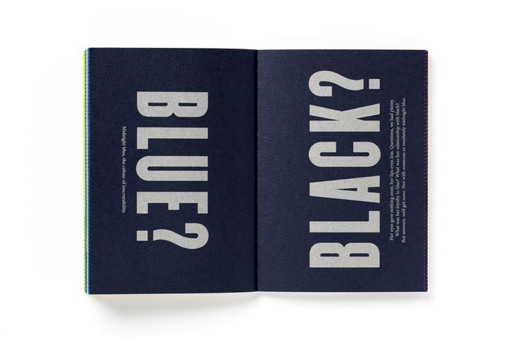 Pentagram 'Today I'm feeling Turquoise' Booklet