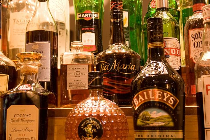 A selection of our Spirits