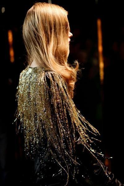 Los flecos años 20!: Fashion, Inspiration, Style, Vauthier Couture, Sparkle, Fringes, Glitter, Black