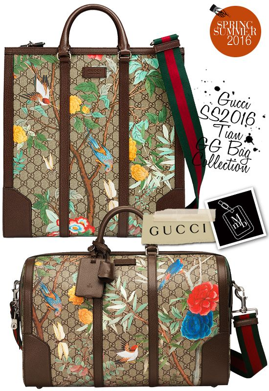 gucci bags for men 2016. gucci spring summer 2016 mens tian gg bags tote for men h