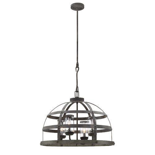 Found it at Joss & Main - Micah 4-Light Foyer Pendant