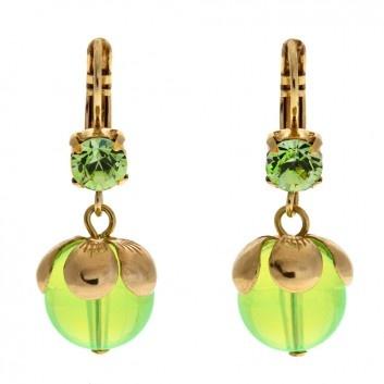 Neon Ohrringe/ Neon Earrings @ melovely.de