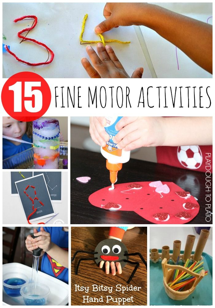 378 Best Images About Fine Motor Activities On Pinterest