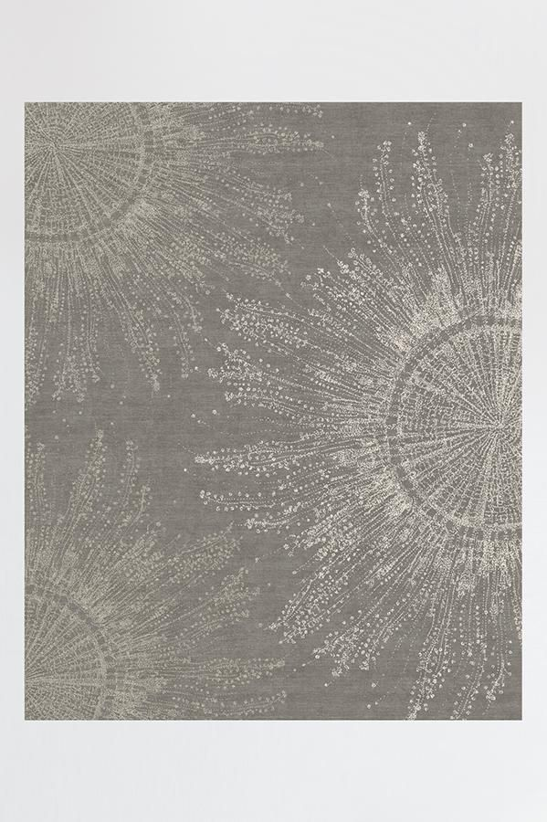 Jellyfish Bloom Silver Rug Living Room Ideas Rugs