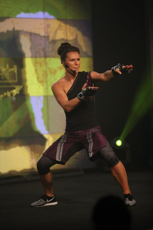 If I had to be anyone other than me; I'd choose Rachael Newsham!  Program Director for Sh'Bam and co-director for Body Combat!