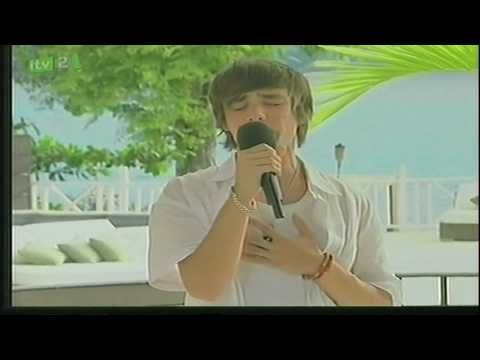 Liam's first audition...I bet looking back it was good that Simon said no :) but it hurts to see him sad