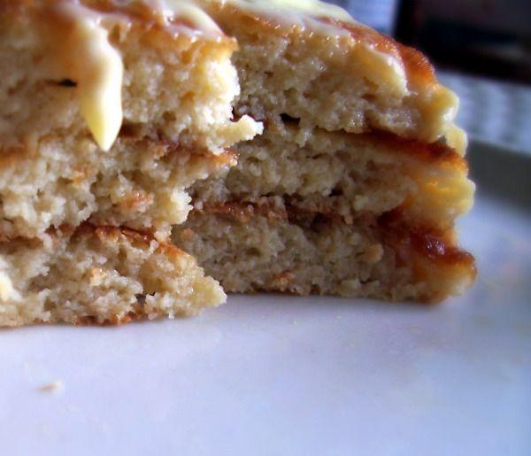 Fluffy Coconut Flour Pancakes -(I'll make a half, or quarter batch, with coconut milk, and stevia)