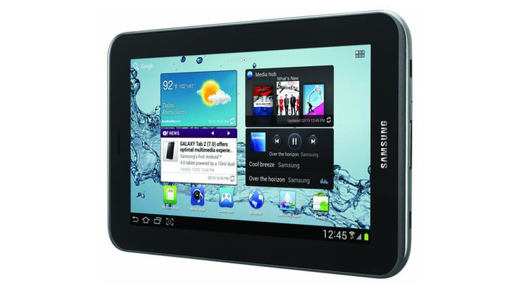 The Samsung Galaxy Tab 2 comes equipped with the Android 4.0 (Ice Cream Sandwich) OS and a 16GHz dual core processor.   Read more: http://www.techgetsoft.com/samsung-galaxy-tab-2-review-1187.html/#ixzz3990FhEX0