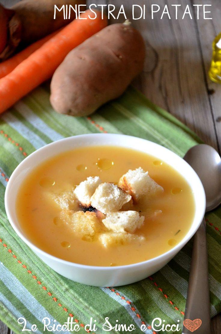 Minestra di patate e carote | Le Ricette di Simo e Cicci